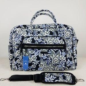 Vera Bradley Iconic Weekender Travel Bag NWT